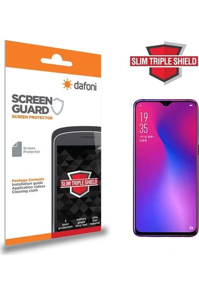 Dafoni Oppo RX17 Neo Slim Triple Shield Ekran Koruyucu