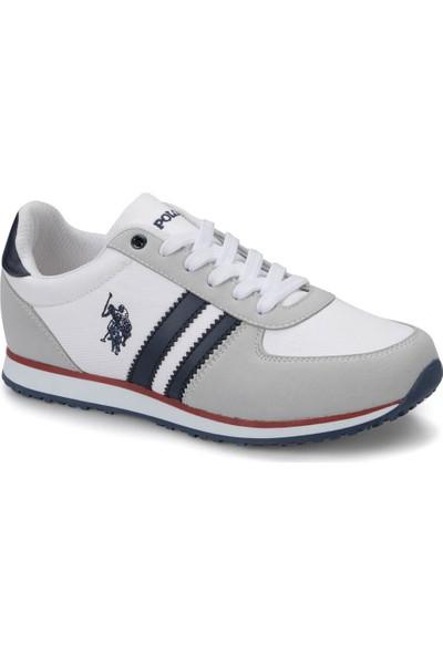 U.S. Polo Assn. Plus Beyaz Kadın Sneaker Ayakkabı
