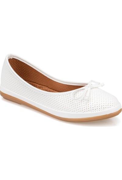 Polaris 91.155537.Z Beyaz Kadın Sneaker Ayakkabı
