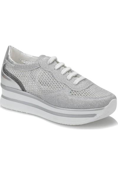 Butigo 19S-003 Gümüş Kadın Sneaker Ayakkabı