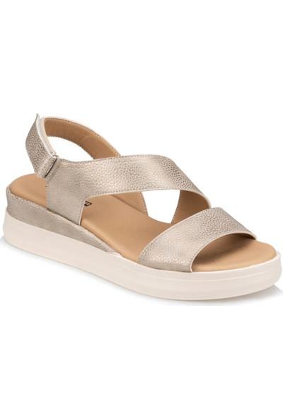 Polaris Trv910033 Altın Kadın Sandalet