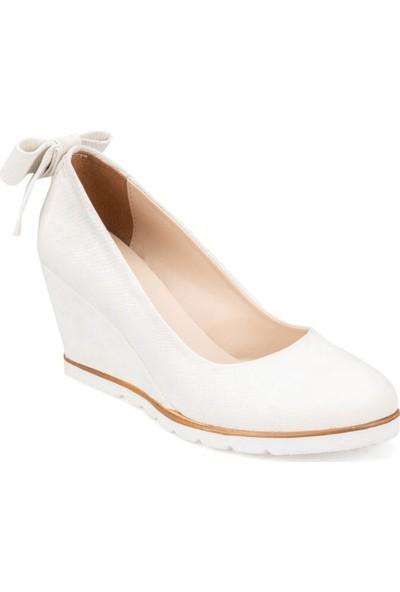 Polaris 91.313081Yz Beyaz Kadın Sandalet