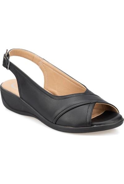 Polaris 5 Nokta 91.100707.Z Siyah Kadın Sandalet