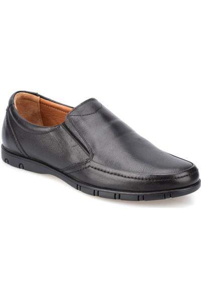 Polaris 5 Nokta 91.109952.M Siyah Erkek Deri Ayakkabı