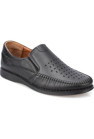 Polaris 5 Nokta 91.103920.M Siyah Erkek Deri Ayakkabı