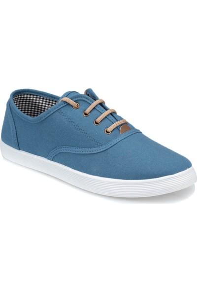 Polaris 91.355070.M Mavi Erkek Slip On Ayakkabı