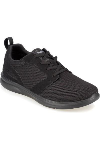 Kinetix Juno Siyah Siyah Erkek Ayakkabı