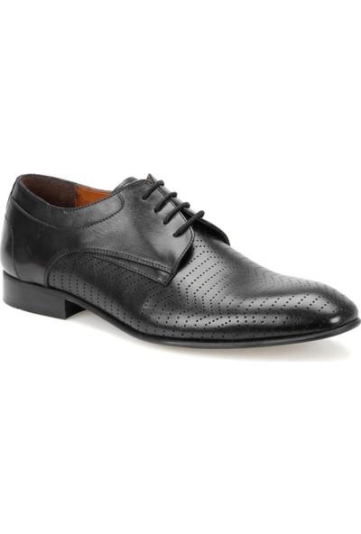 Garamond 3899 Siyah Erkek Deri Ayakkabı