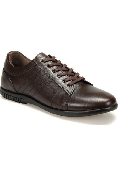 Oxide 1403 M Kahverengi Erkek Deri Ayakkabı