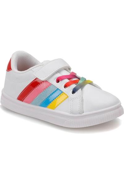 I Cool Funny P Beyaz Kız Çocuk Sneaker Ayakkabı