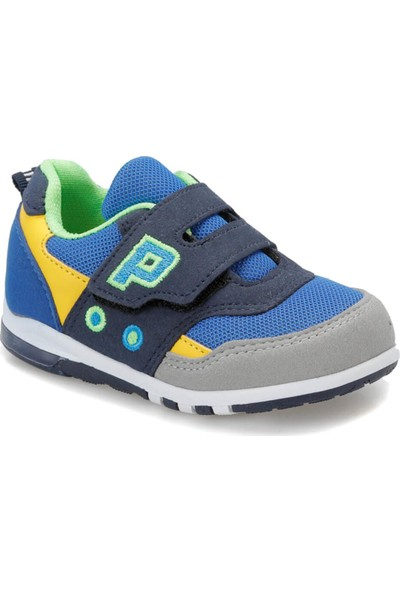 Yellow Kids Pablo.19S Mavi Lacivert Erkek Çocuk Spor Ayakkabı