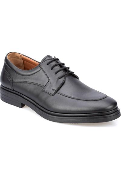 Polaris 5 Nokta 91.110445.M Siyah Erkek Deri Klasik Ayakkabı
