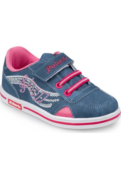 Polaris 91.507095.P Mavi Kız Çocuk Ayakkabı