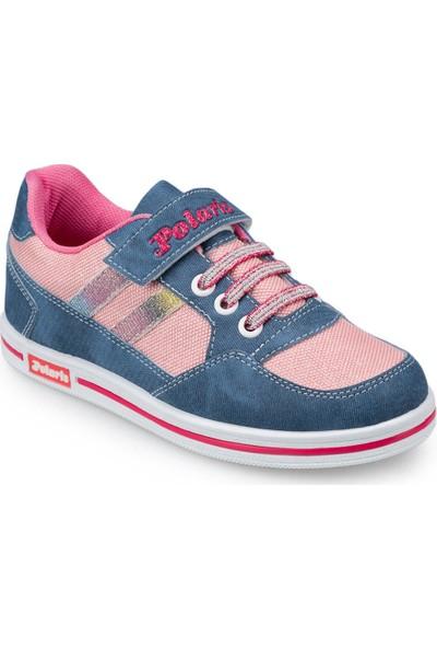 Polaris 91.509314.F Mavi Kız Çocuk Ayakkabı