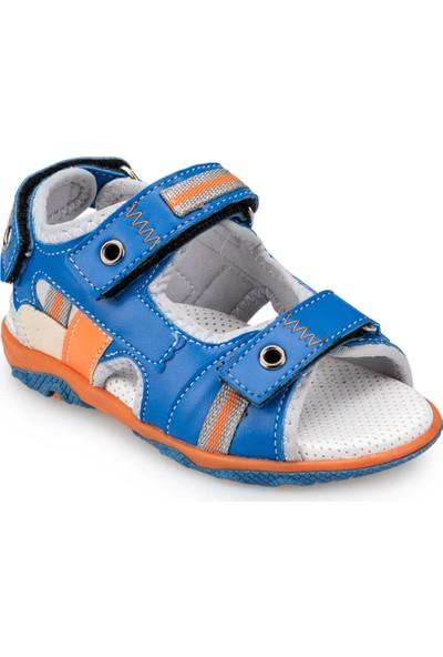 Polaris 91.510046.İ Lacivert Erkek Çocuk Deri Spor Ayakkabı