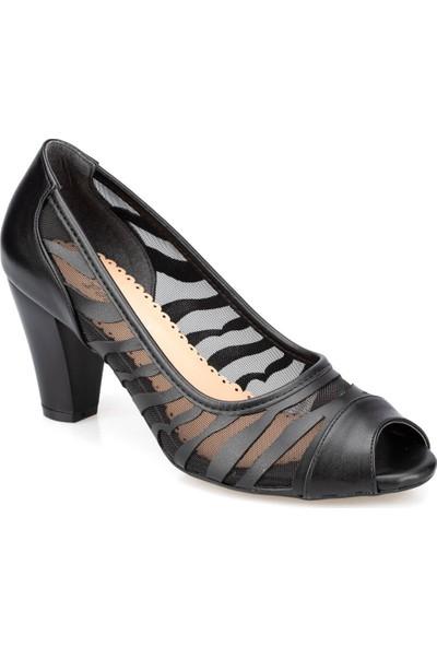 Polaris 91.309769.Z Siyah Kadın Gova Ayakkabı