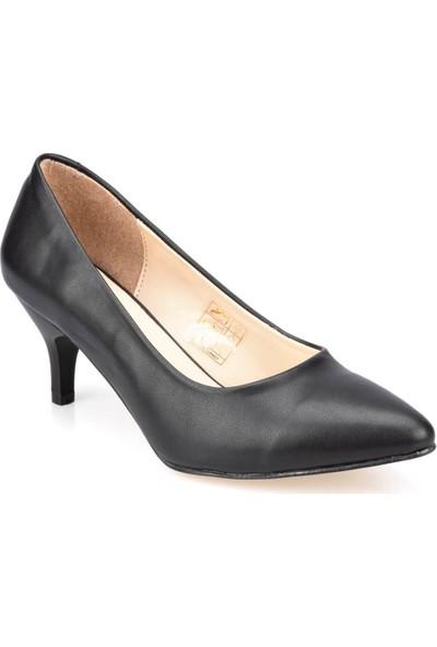 Polaris 91.307282.Z Siyah Kadın Gova Ayakkabı