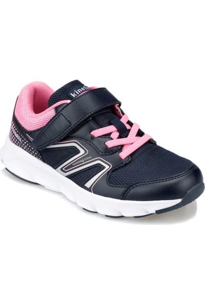 Kinetix Jika Lacivert Pembe Kız Çocuk Koşu Ayakkabısı