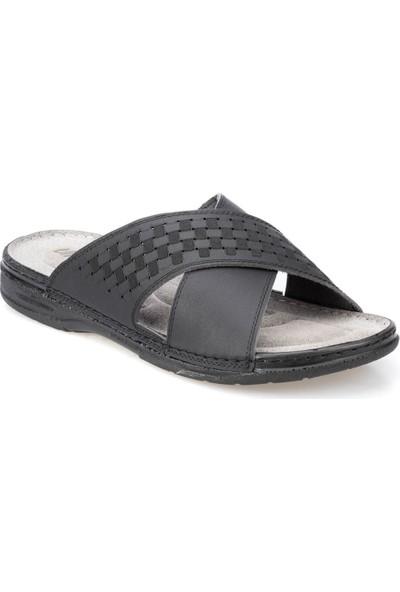 Polaris 91.159015.M Siyah Erkek Klasik Ayakkabı