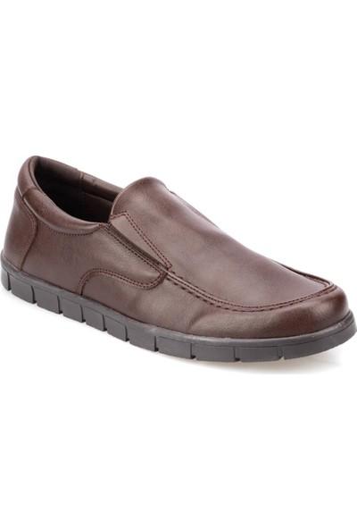 Polaris 91.150586.M Kahverengi Erkek Klasik Ayakkabı