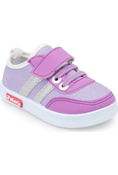 Polaris 91.511130.B Lila Kız Çocuk Ayakkabı
