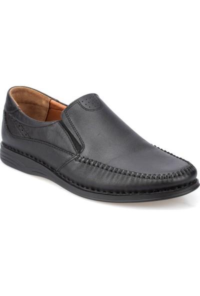 Polaris 5 Nokta 91.105517.M Siyah Erkek Deri Klasik Ayakkabı
