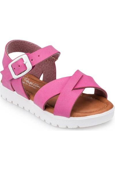 Polaris 91.508159.B Fuşya Kız Çocuk Sandalet
