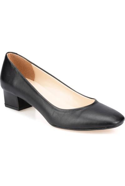 Polaris 91.312079.Z Siyah Kadın Gova Ayakkabı