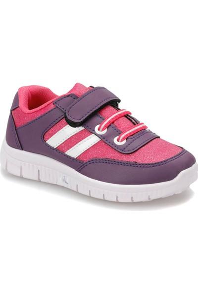 I Cool Vegas Mor Fuşya Kız Çocuk Sneaker Ayakkabı