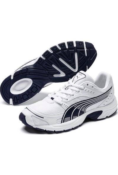 Puma Axis Beyaz Lacivert Erkek Koşu Ayakkabısı