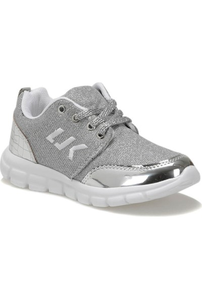 Lumberjack Smash Gümüş Neon Turuncu Kız Çocuk Sneaker Ayakkabı
