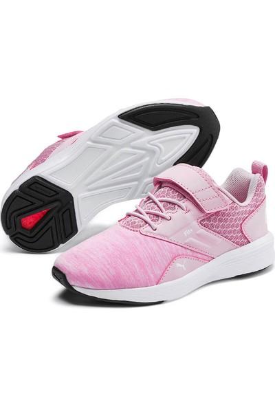 Puma Nrgy Comet V Ps Beyaz Pembe Kız Çocuk Sneaker Ayakkabı