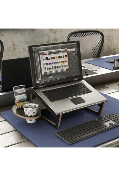 Minar Zoed Laptop Standı - Mat Siyah
