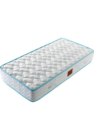 Opalin Blue Enerji Ortopedik Yaylı Yatak 90x200 Cm