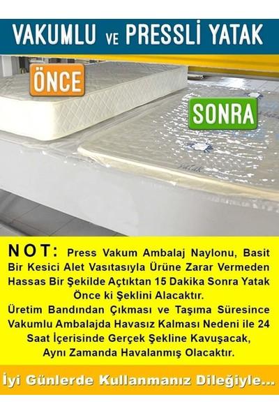 Opalin Jakarlı Yaylı Yatak 90x200 Cm