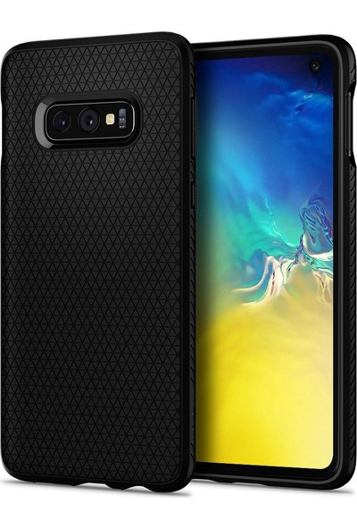 Spigen Samsung Galaxy S10e Kılıf Liquid Air Matte Black - 609CS25836