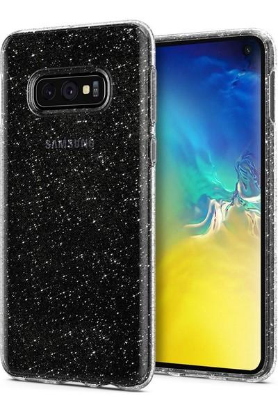 Spigen Samsung Galaxy S10e Kılıf Liquid Crystal Glitter Crystal Quartz - 609CS25834