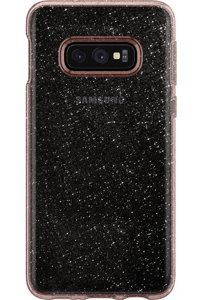 Spigen Samsung Galaxy S10e Kılıf Liquid Crystal Glitter Rose Quartz - 609CS25835