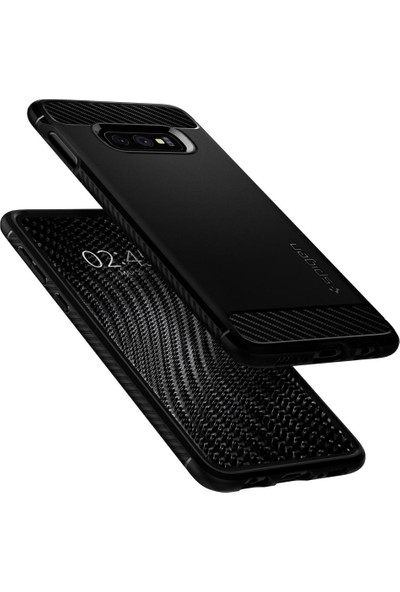 Spigen Samsung Galaxy S10e Kılıf Rugged Armor Matte Black - 609CS25837