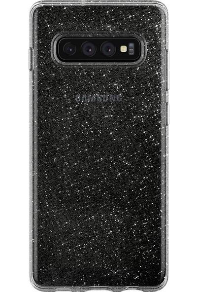 Spigen Samsung Galaxy S10 Kılıf Liquid Crystal Glitter Crystal Quartz - 605CS25797