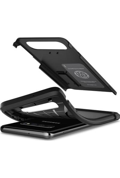 Spigen Samsung Galaxy S10 Kılıf Tough Armor Black - 605CS25805