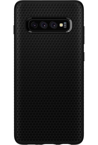 Spigen Samsung Galaxy S10 Plus Kılıf Liquid Air Matte Black - 606CS25764