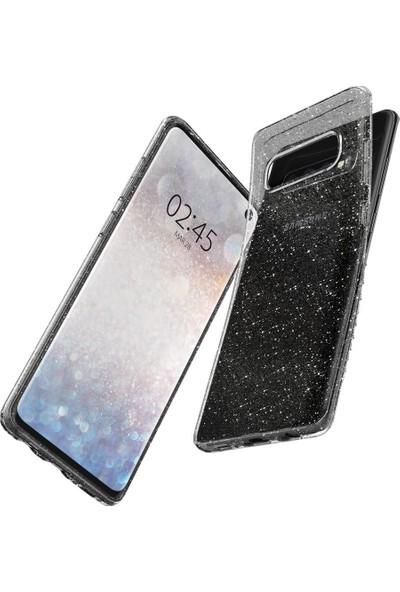 Spigen Samsung Galaxy S10 Plus Kılıf Liquid Crystal Glitter Crystal Quartz - 606CS25762