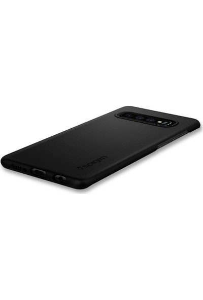 Spigen Samsung Galaxy S10 Plus Kılıf Thin Fit Black - 606CS25756
