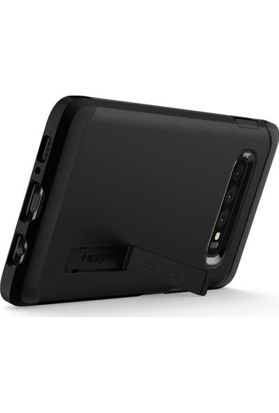 Spigen Samsung Galaxy S10 Plus Kılıf Tough Armor Black - 606CS25770