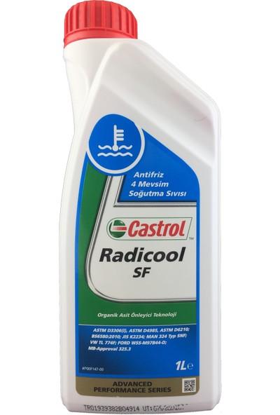 Castrol Radicool Sf 1 Litre Organik Kırmızı Konsantre Antifriz