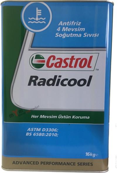 Castrol Radicool 16 Kg Mavi Antifriz Konsantre *Su İle -36C 32Kg