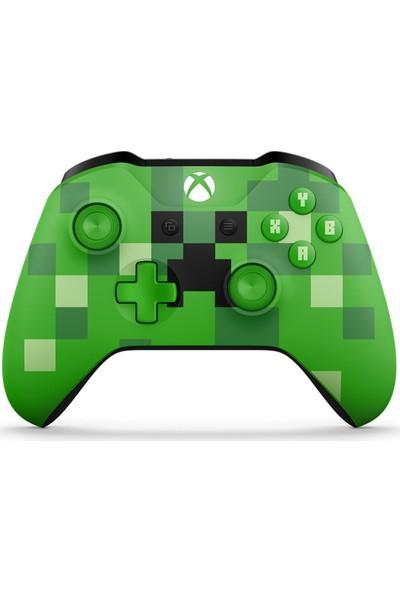 Microsoft Xbox One Minecraft Creeper Kablosuz Oyun Kumandası WL3-00057