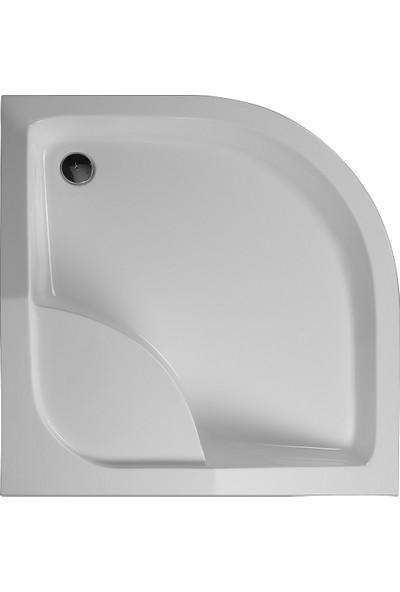 Sedem Oval Oturmalı Duş Teknesi - 100x100