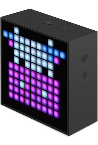 Divoom Timebox Bluetooth Hoparlör - Mini Kırmızı